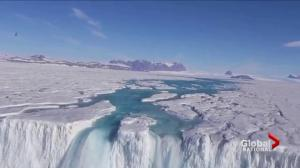 Unprecedented ice melt in Antarctica